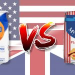 Baking success for UK Expats moving to the USA is dependent on understanding differences in the basic flour types!